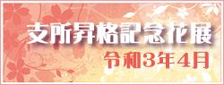 近江湖陽会支所昇格記念花展2021